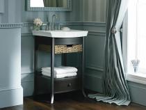 Kohler Archer®petite bathroom vanity cabinet in Black Forest