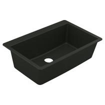 Moen Granite Series Granite Granite Single Bowl Undermount Or Drop In Sink in Black