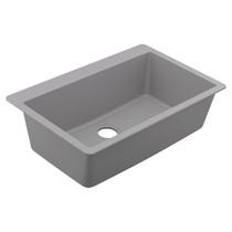 Moen Granite Series Granite Granite Single Bowl Undermount Or Drop In Sink in Grey
