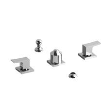 Riobel Zendo  4-Piece Bidet Faucet w/ Integrated Vacuum Breaker