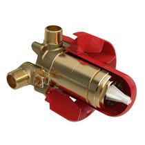 Riobel Zendo  Riowise 2-Way T/P (Thermostatic/Pressure Balance) Coaxial Valve