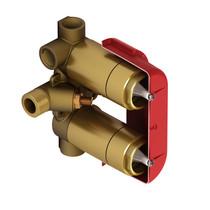 "Riobel Zendo Riowise 4-Way Type T/P (Thermostatic/Pressure Balance)  3/4"" Coaxial Valve"
