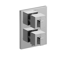 """Riobel Zendo Riowise 4-Way Type T/P (Thermostatic/Pressure Balance)  3/4"""" Coaxial Valve Trim Only"""