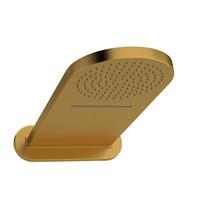 Riobel Rain and Cascade Shower Head Brushed Gold