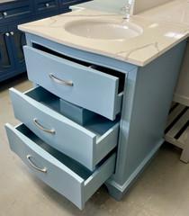 Royal Lucy 30 inch Polar Blue Bathroom Vanity