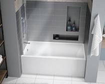 Fleurco MOTIF 60 x 32 Inch Alcove Right Hand Bathtub- In Stock