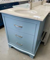 Royal Lucy 24 inch Polar Blue Bathroom Vanity