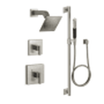 Kohler Loure Rite-Temp Pressure Balanced Shower System with Shower Head and Hand Shower BN