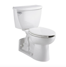 American Standard: YORKVILLE  Yorkville™ Two-Piece Pressure Assist 1.1 gpf/4.2 Lpf Back Outlet Elongated EverClean® Toilet