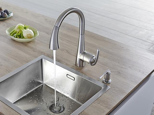 Grohe Ladylux Foot Control Touch Single Handle Kitchen Faucet Royal Bath Place