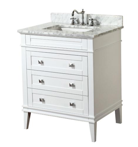 Ibis 24 White Bathroom Vanity Royal Bath Place