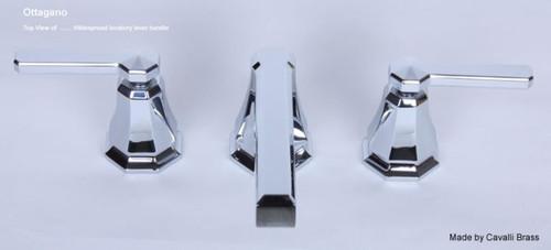 Cavalli Ottagona Widespread Lavatory Faucet in Chrome