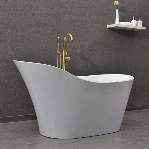 Royal  59 inch  Neo Slip Deep Soak Freestanding Bathtub **NEW