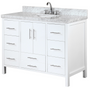 Royal Ultra 48 inch White Single Sink Bathroom Vanity  **New