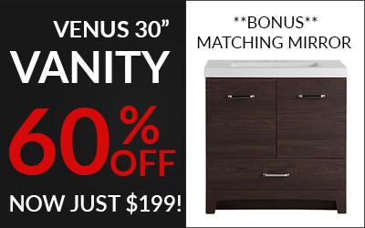 Venus 30 inch vanity sale