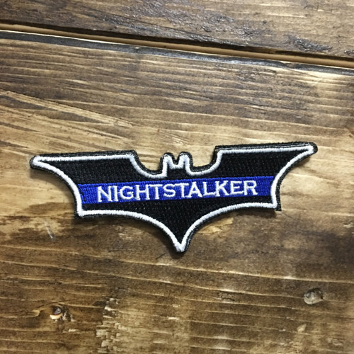 Blue Line NIGHTSTALKER Patch {Velcro backing}
