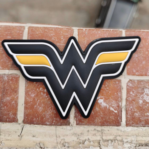 Thin Gold Line Wonder Woman Patch