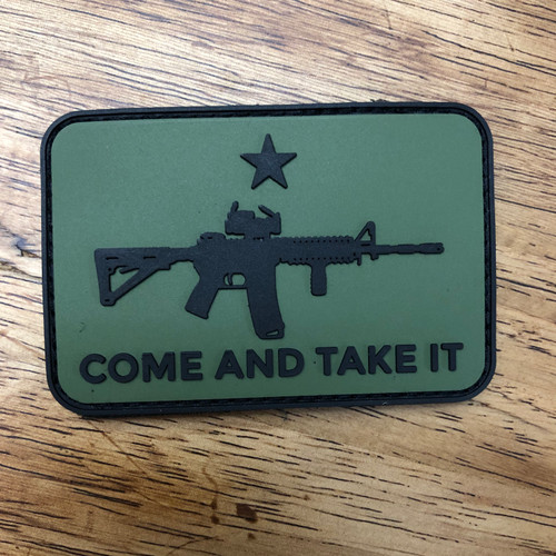 Come and Take it AR-15 PVC Patch