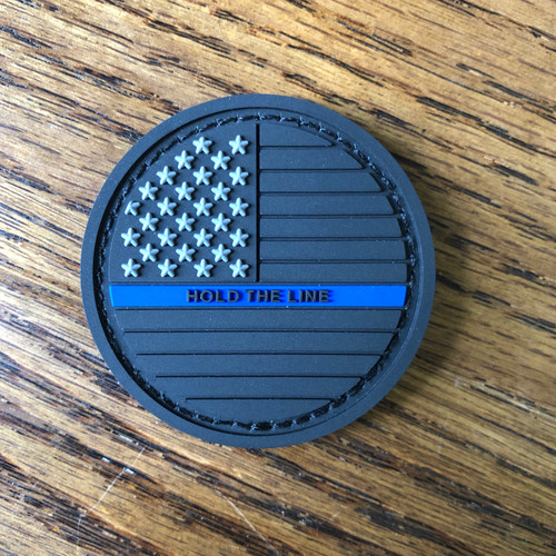 Hold the Line PVC Patch