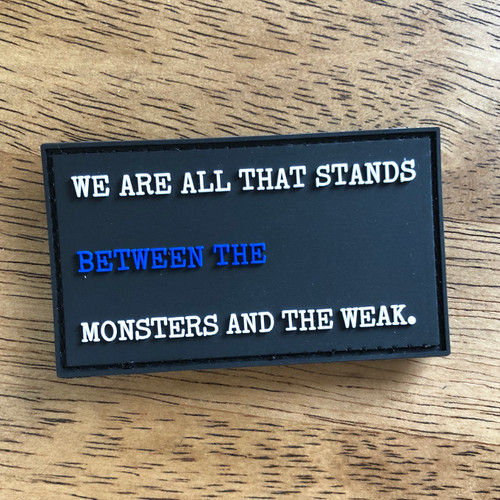 Monsters and the Weak PVC Patch