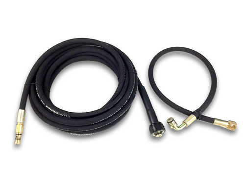 1109810 + 1109811: ClearForce CF1800 High-Pressure Rubber Hose Kit (New Model - Includes Both Long and Short Hoses)
