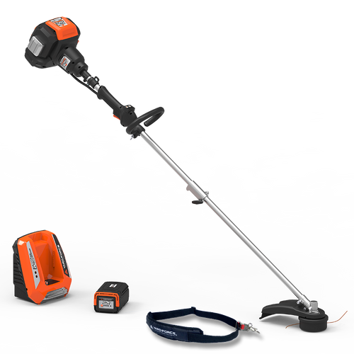 """Yard Force 120vRX Lithium-Ion 18"""" Line Trimmer with Push-Button Speed Control"""