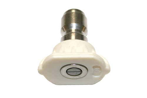 Universal-Fit 40 Degree White Quick-Connect Spray Tip
