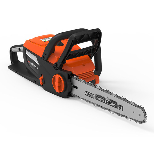 16 in. 60-Volt Lithium-Ion XTRA Cordless Electric Chainsaw, Battery and Fast Charger Included