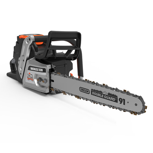 18 in. 120-Volt Lithium-Ion Cordless Chainsaw, Battery and Fast Charger Included