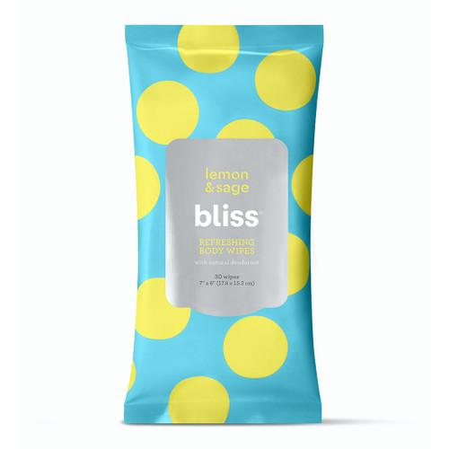 Bliss Lemon & Sage Refreshing Body Wipes