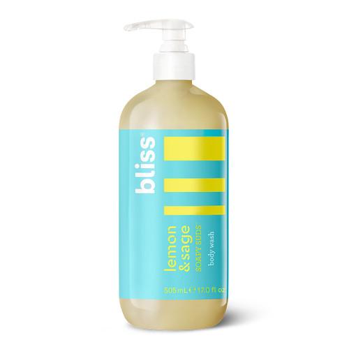 Bliss Lemon & Sage Soapy Suds - Foaming Body Wash (17 oz)
