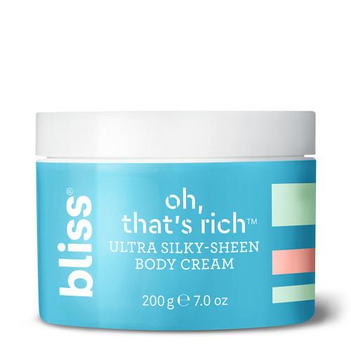 Bliss Oh, That's Rich - Ultra Moisturizing Body Cream