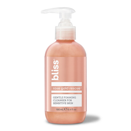 Bliss Rose Gold Rescue Cleanser