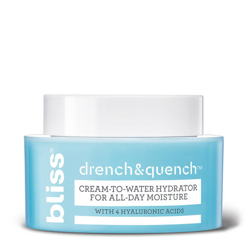 NEW! Bliss Drench & Quench Moisturizer