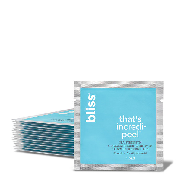 Bliss That's Incredi-peel - Glycolic Face Peel Pads