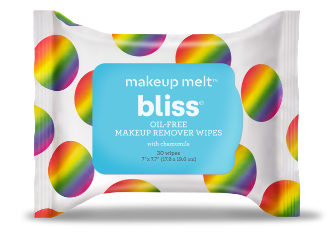 Bliss' Makeup Melt Wipes Limited Edition 30 Count