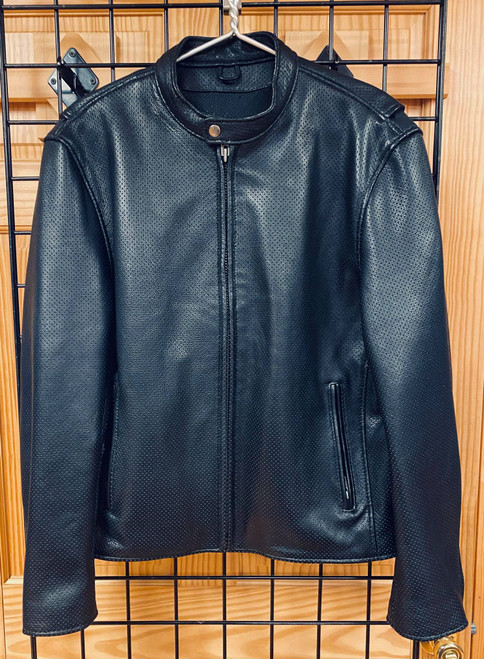 Men's Perforated Summer Riding Jacket, Size 44 (Clearance#124)