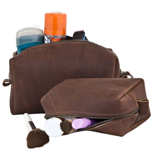 Harness Leather Dopp Kit