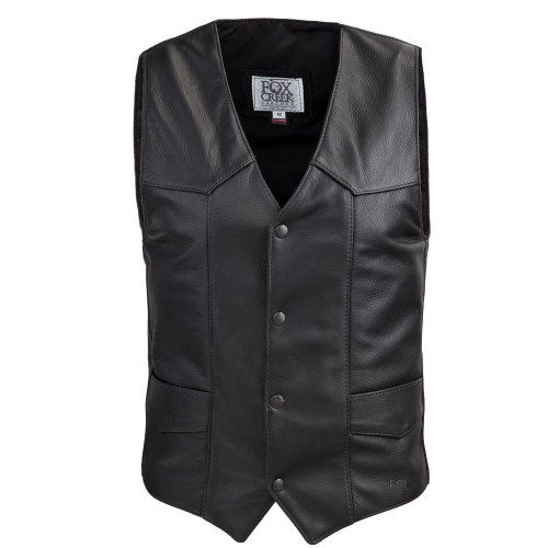 Front view of the Classic Motorcycle Motorcycle Vest