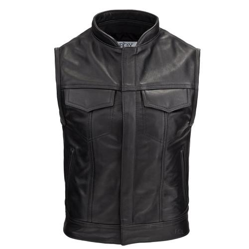 Overstock Leather Rebel Vest