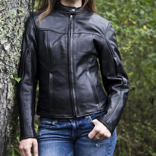 Women's Cruiser Motorcycle Jacket