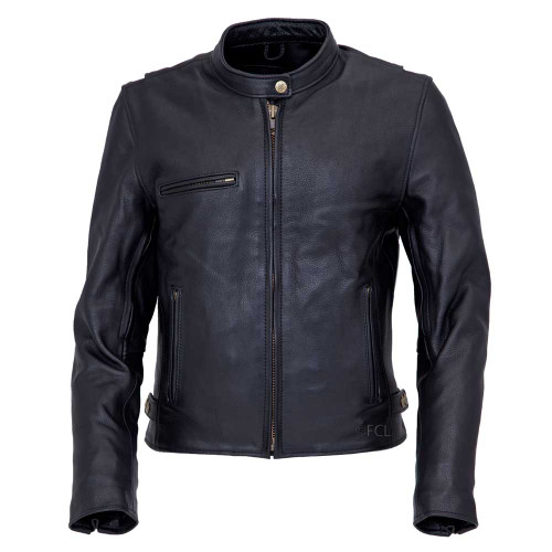Front view of the Women's Grayson Motorcycle Jacket
