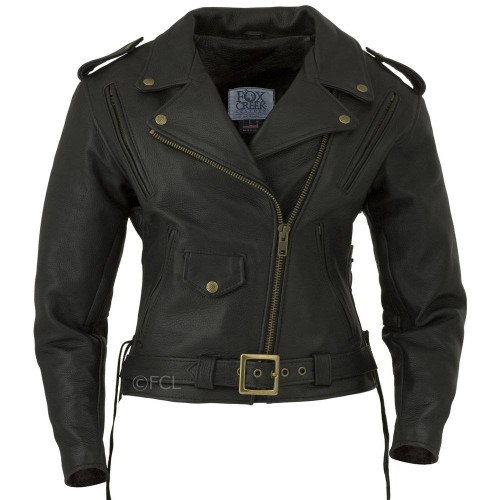 Women's Classic Motorcycle Jacket I
