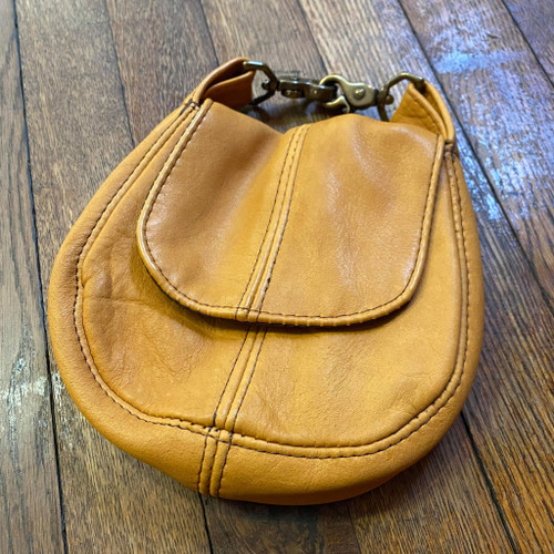 Bison Leather Belt Purse - Clearance #151
