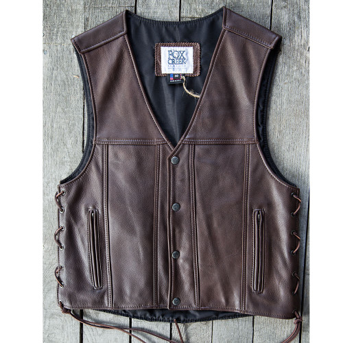 Men's Brown Cowhide Hwy 21 Size 38 (Clearance 146)