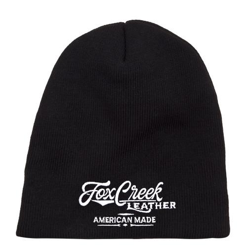 Fox Creek Leather Beanie