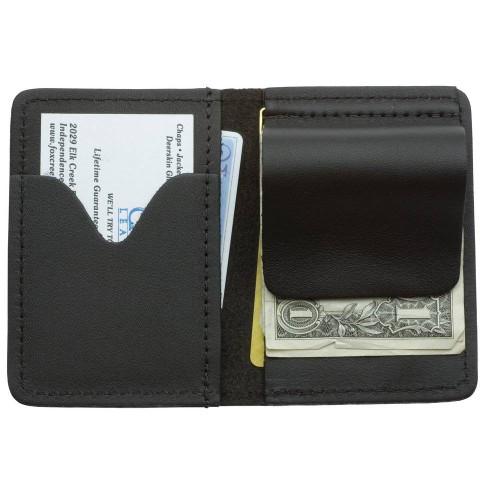 Leather Money Clip Wallet