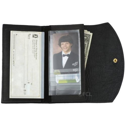 Ladies Credit Card Wallet Black