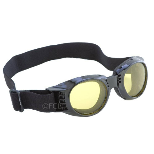 Yellow Tint lenses on the Paragon Goggles.