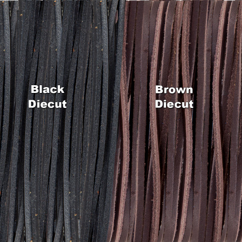 Leather Diecut Lace Color Options